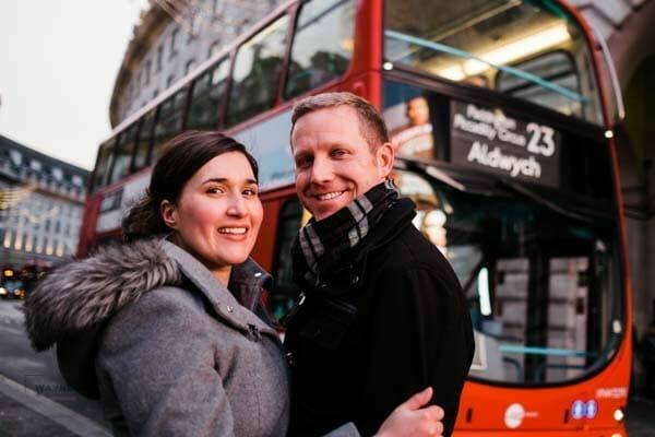 London couples' photoshoot