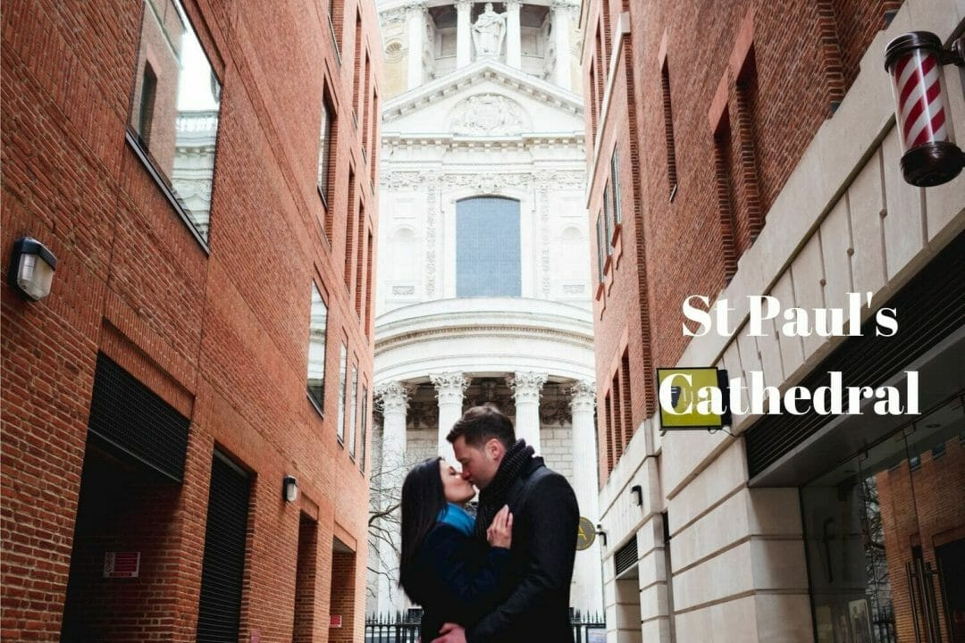 London photoshoot at St Paul's cathedral